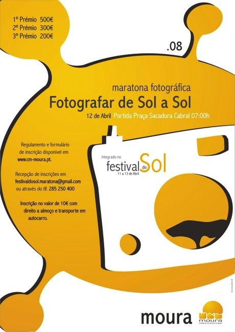 maratona fotográfica na cidade de Moura