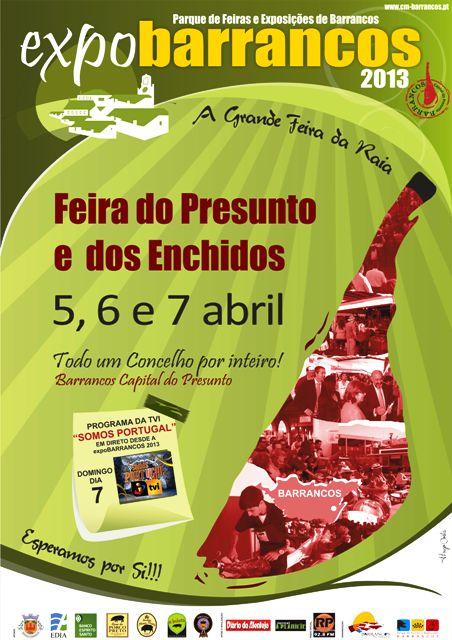 cartaz expoBARRANCOS 2013