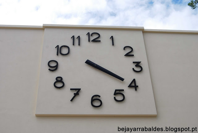 relógio do liceu