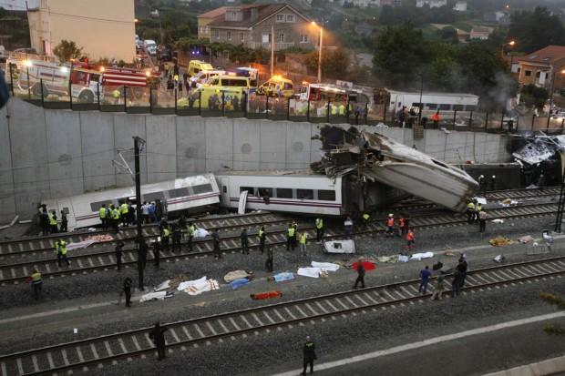 acidente ferroviário espanha