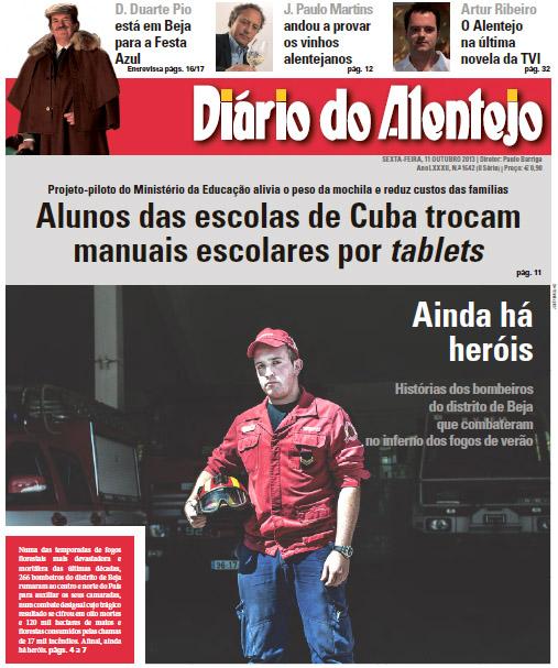 capa diário alentejo11 out2013