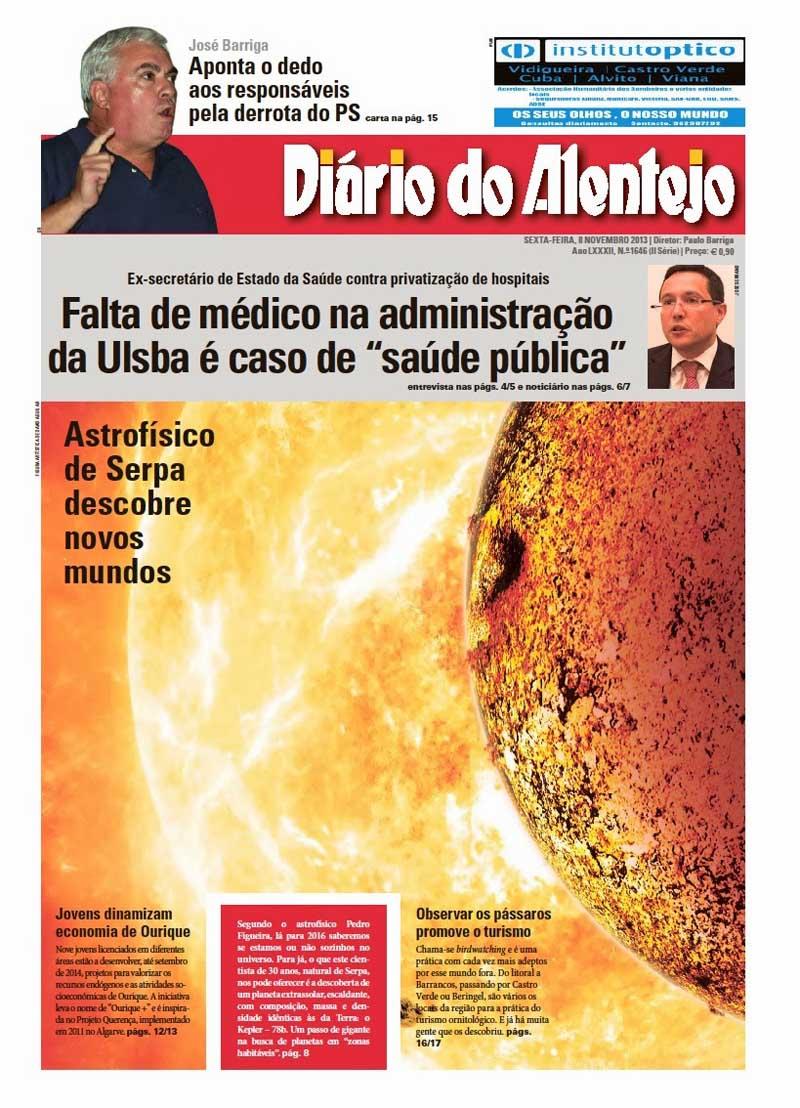 diario alentejo 8 novembro 2013
