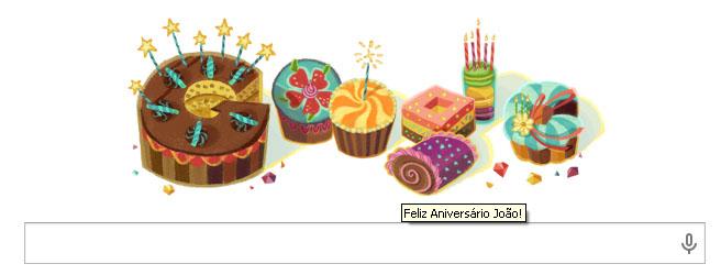 feliz aniv google