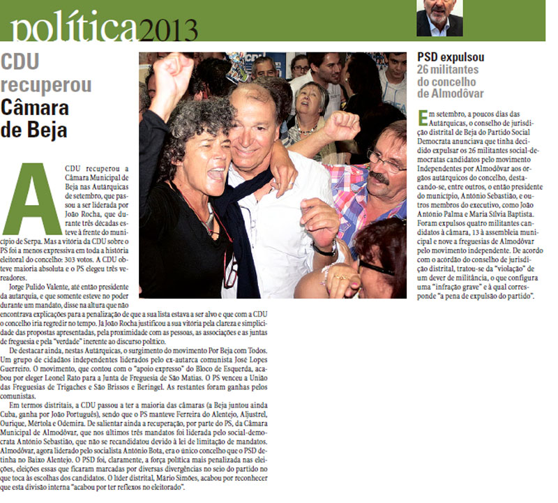 politica 2013 diario alentejo
