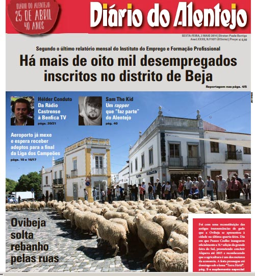 diario alentejo 2 maio