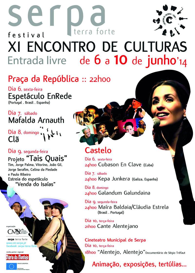 encontro culturas serpa 2014