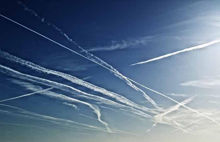 trafego aéreo congestionado