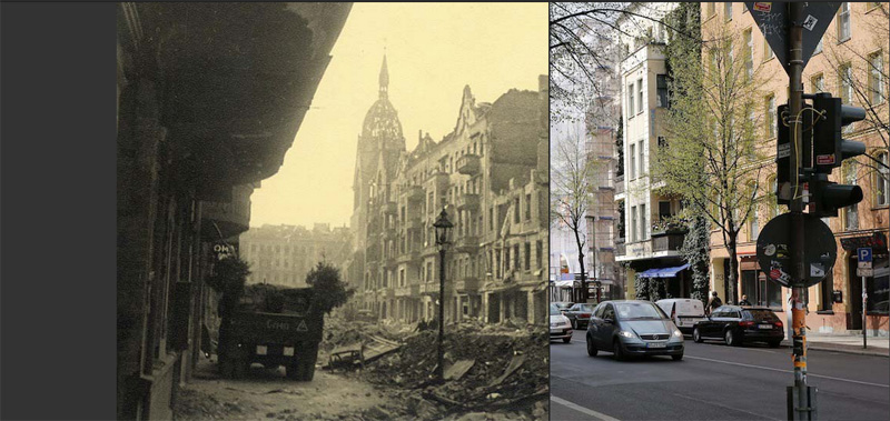 Berlim 1945 e hoje