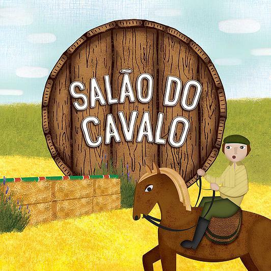 salão cavalo