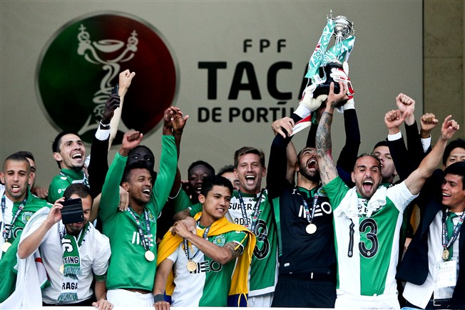 sporting taça portugal 2015