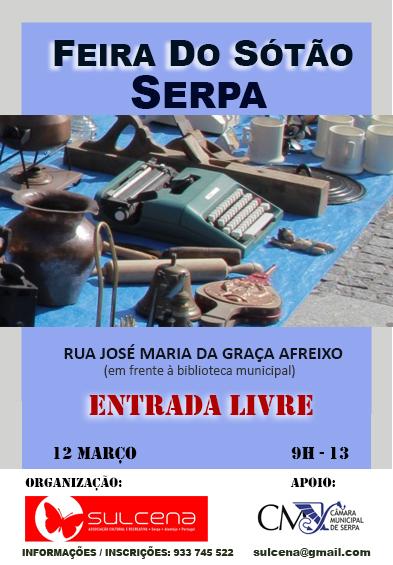 cartaz 3ª feira do sótão