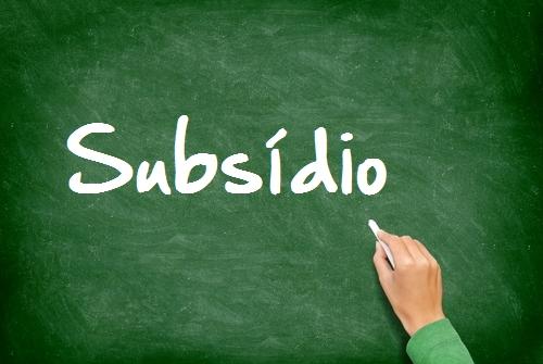 subsídio